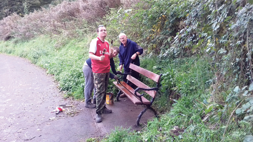 Transforming the park benches