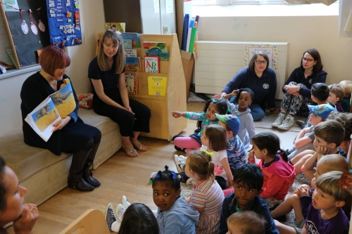 Pre-school's lesson for MP on early years funding crisis