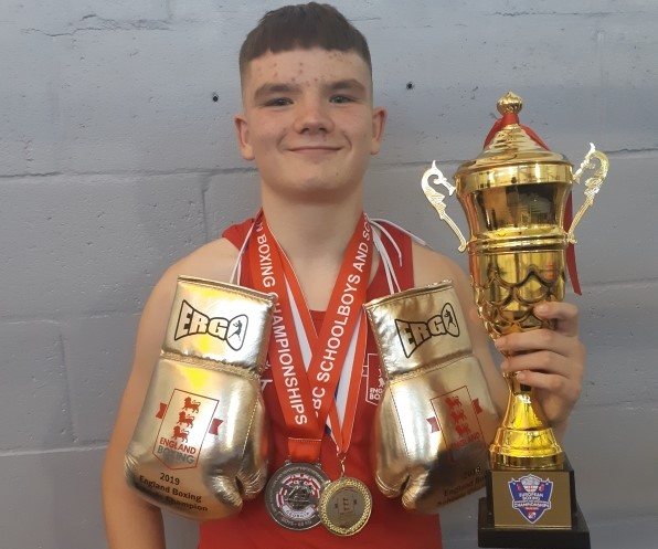 Young Hillfields boxer Ethan takes European silver