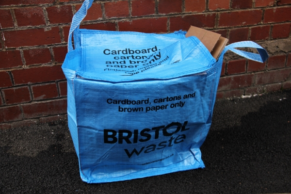 New blue recycling bags coming to every Bristol home