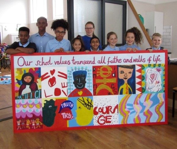 Library hosts display of Fishponds Academy art