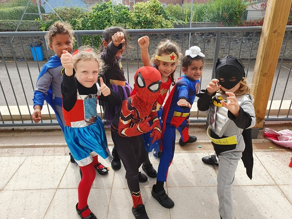 Superheroes assemble at Chester Park