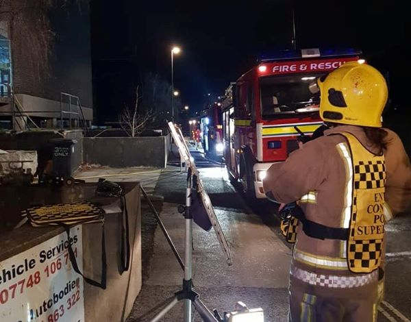 Owner of fire-hit Strachan and Henshaw block faces safety charges
