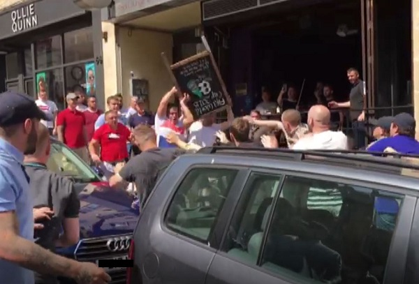 13 men jailed for brawl in busy Bristol street after England World Cup football match