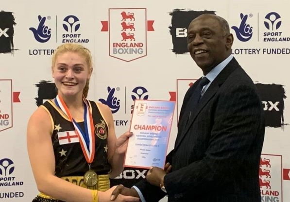 Morgan is Downend Boxing Club's latest national champion