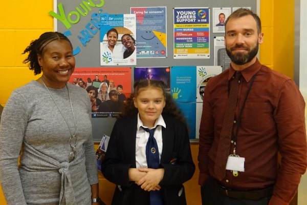 Helping schools support young carers in Fishponds