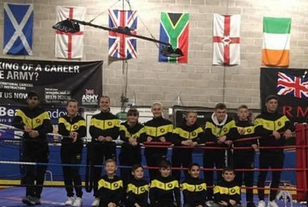 Downend Boxing club girls lose to split decisions