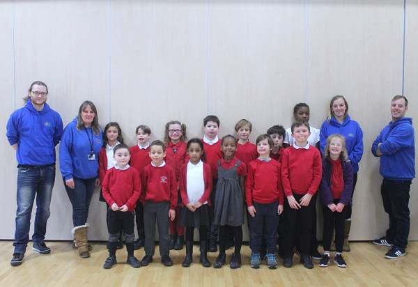 Praise for Fishponds out of school club's children and staff