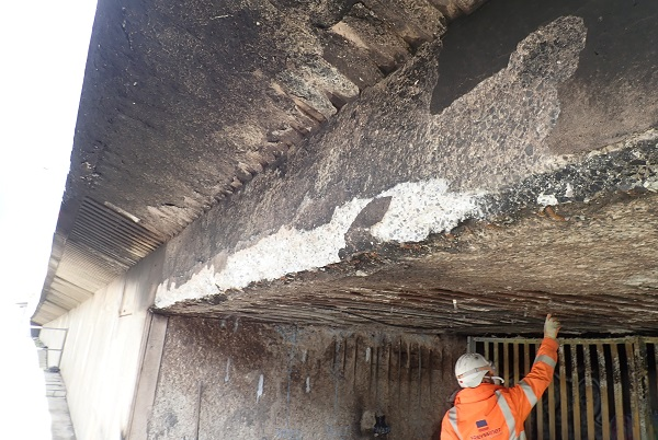 No end in sight to M32 slip road closure after fire damages Eastville flyover ramp