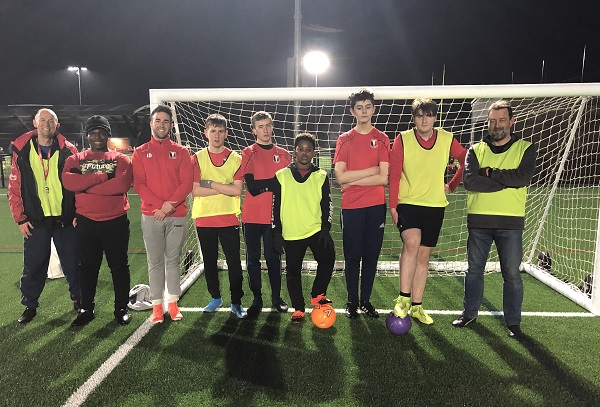 Accessible club helps young players enjoy football
