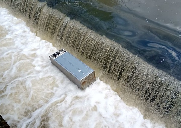 Disbelief at dumping of fridge freezers in river Frome at Snuff Mills