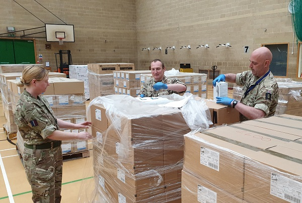 Emergency protection supplies including 100,000 masks from Bristol's Chinese sister city heading to frontline staff