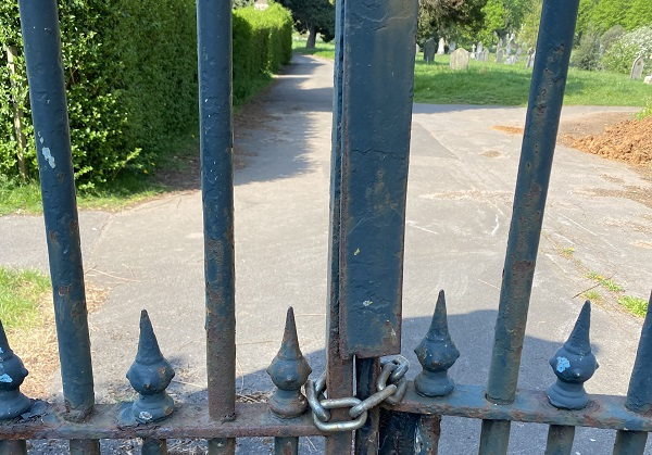 Locking relatives out of Greenbank cemetery is 'inhumane', says widow