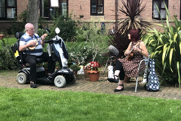 Phone friend is a lifeline for Fishponds care home resident