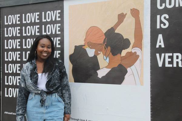 Art campaign gives Parys a platform to show her work in her home city