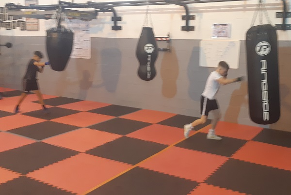 Downend Boxing Club welcomes boxers back for training