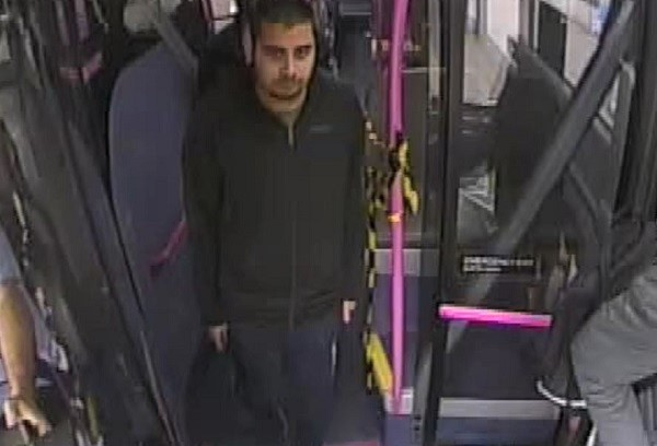 Sexual assault on bus in Fishponds Road - police want to trace this man