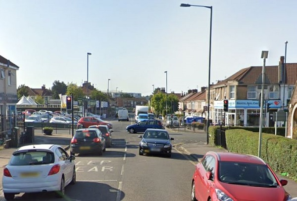 Pedestrian carrying two-year-old boy is knocked down in road