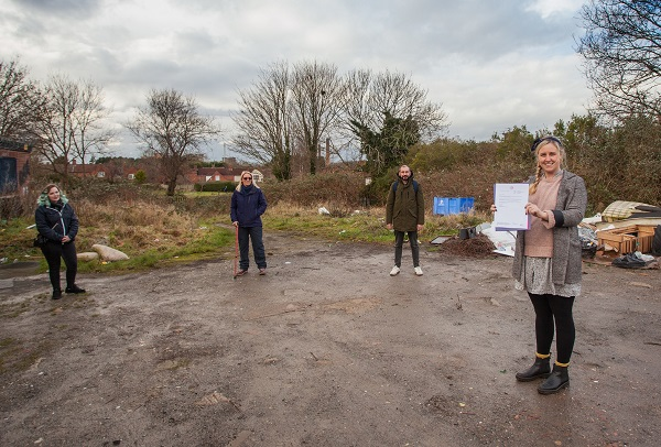 Council to hand land to community for new Hillfields affordable homes
