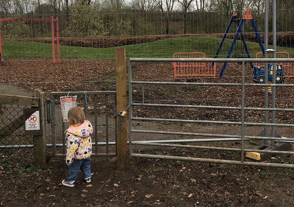 Why is our play area still closed after nearly six months?