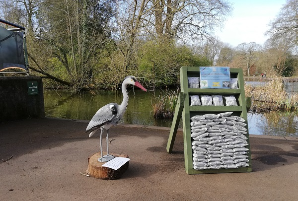 Volunteers and pop-up cafe are back at Eastville Park