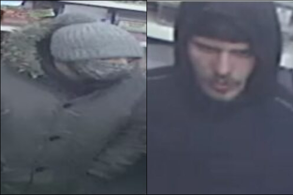 Two men wanted by police after burglary in Stapleton
