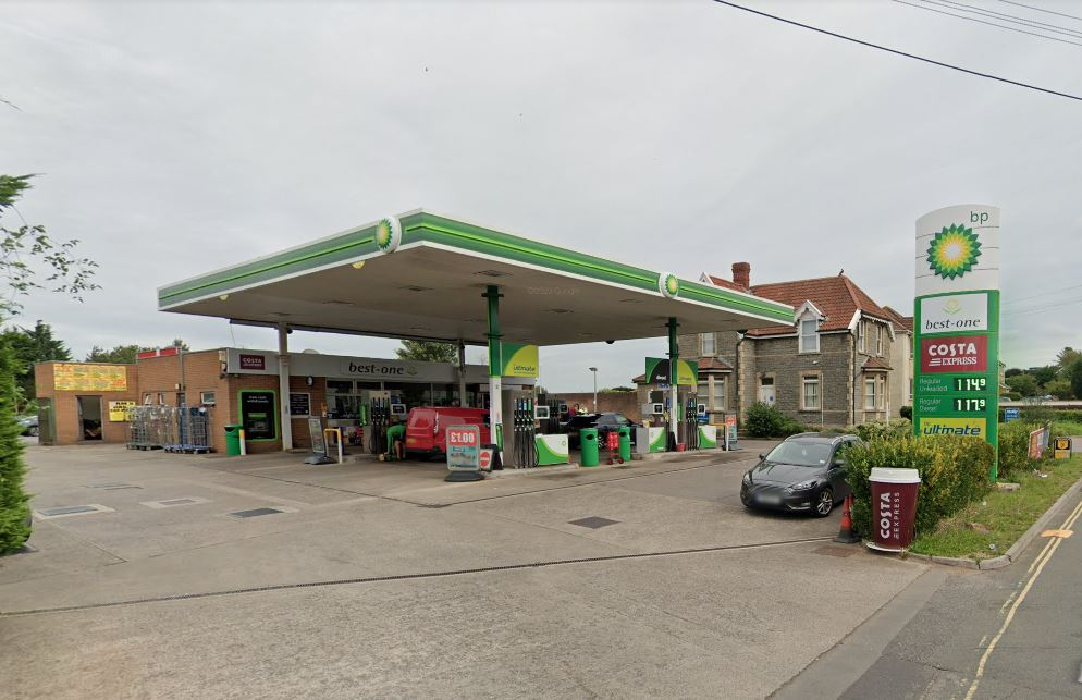 Robbers target Frenchay petrol station