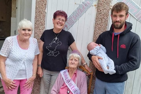Betty celebrates 100 years of life in Fishponds