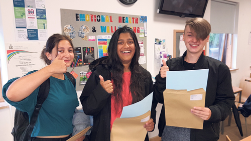CLF Post 16 celebrates A-level success