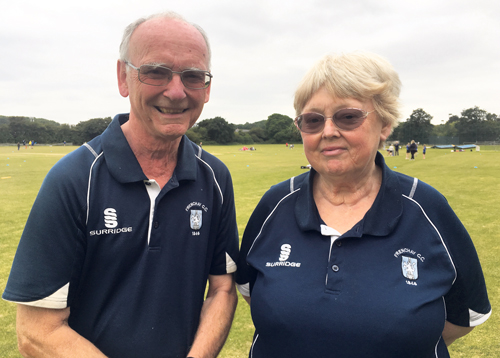 Queen hails a hero of local cricket