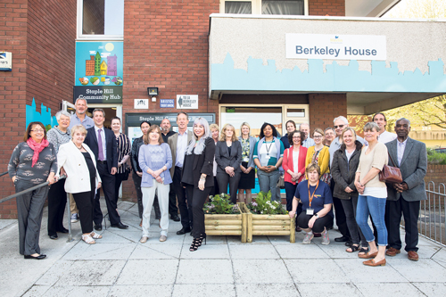 Staple Hill Community Hub:  now bigger and better than ever