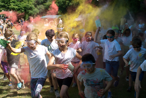 Colourfest brings fun and funds for St Augustine's
