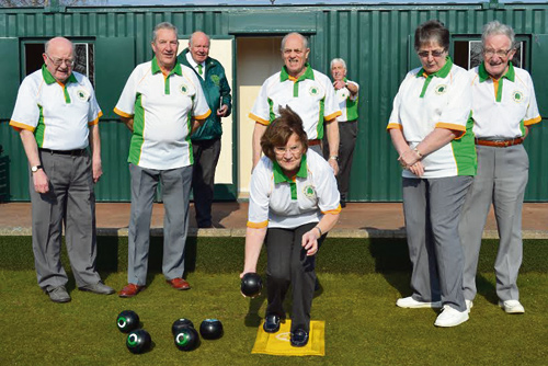 MEMBERS of Begbrook Green Bowling Club are looking forward to the new season with enthusiasm, following the installation of new changing rooms and toilet facilities.