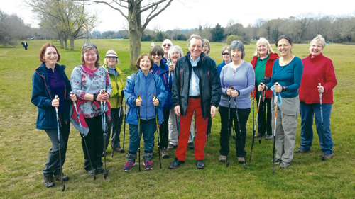 bristol nordic walking