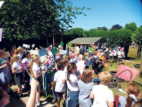 Frenchay Primary's 175th anniversary